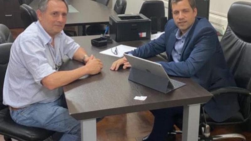 Presidente del Partido Justicialista se reunió con el Diputado Provincial Juan Pablo De Jesús