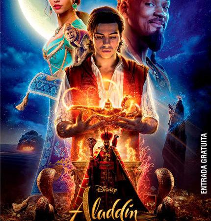 Ciclo de cine infantil en el centro comunitario NIDO: este jueves se proyecta Aladdin