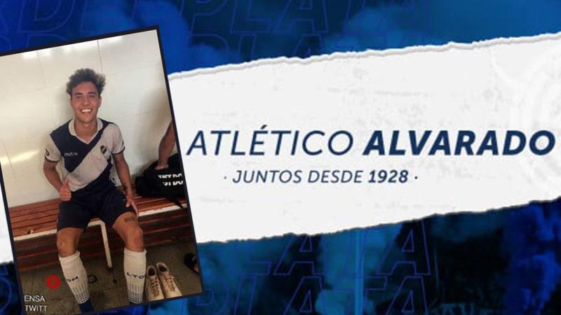 Valentino Ottaviano debutó en Alvarado de Mar del Plata