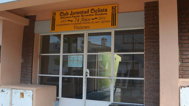 Reapertura de la biblioteca del Club Juventud Ciclista
