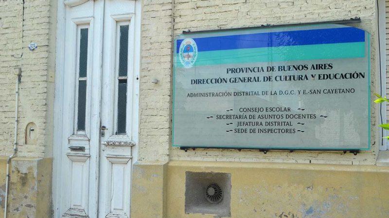Secretaría de Asuntos Docentes de San Cayetano: Actos públicos no presenciales