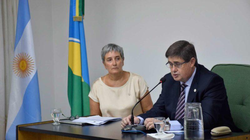Gargaglione inauguró las sesiones ordinarias del HCD