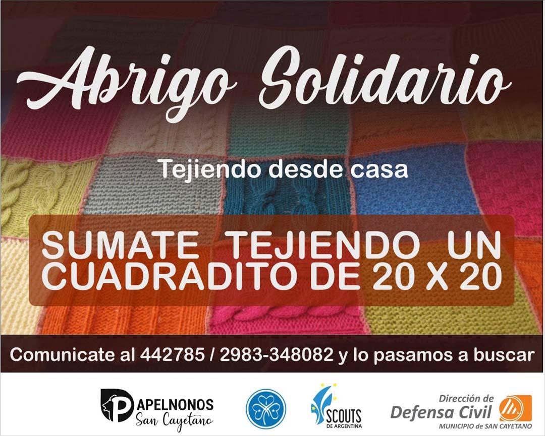 Campaña «Un abrigo solidario» destinada a armar frazadas de lana