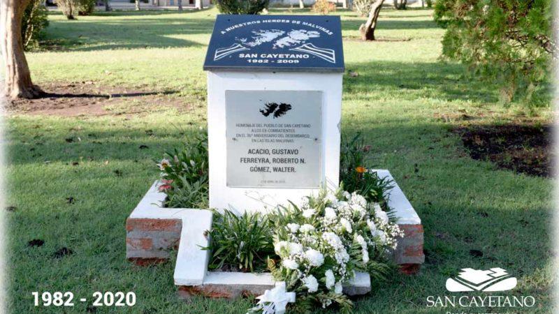 38° Aniversario de Día del Veterano y de los caídos en Malvinas