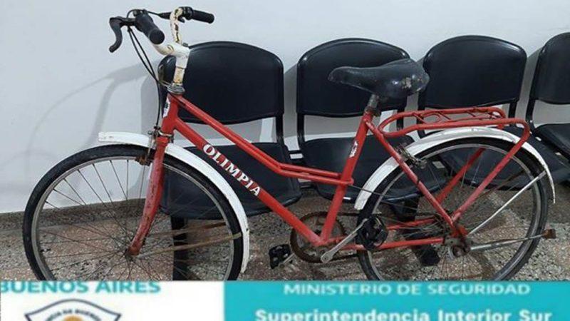 Hallazgo de bicicletas por personal policial de la Policía Comunal