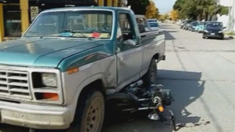 Circulaba sin permiso y provocó un accidente