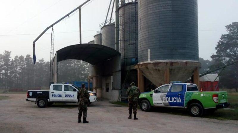 Patrulla Rural esclarece robo de camión y cereal de empresa orensana