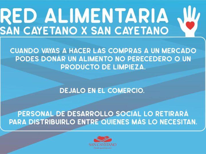 """Lanzamiento de la Red Alimentaria """"San Cayetano por San Cayetano"""""""