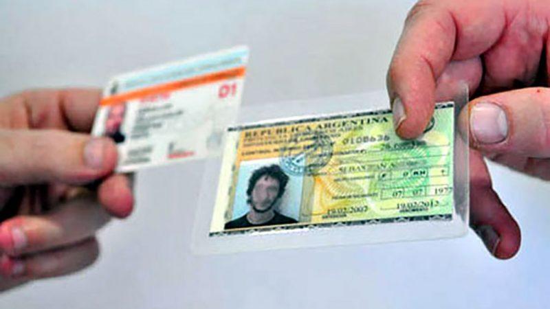 Retiro de licencias de conducir