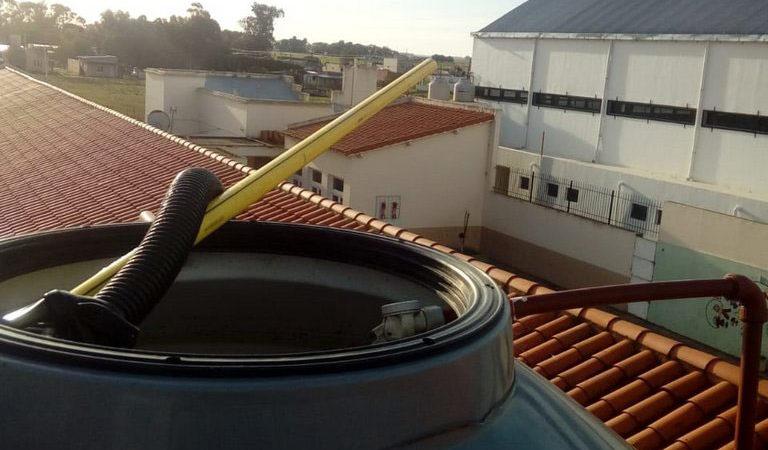 Limpieza de tanques de agua