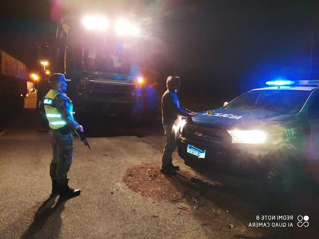 Patrulla Rural San Cayetano secuestró marihuana a Contratista Rural