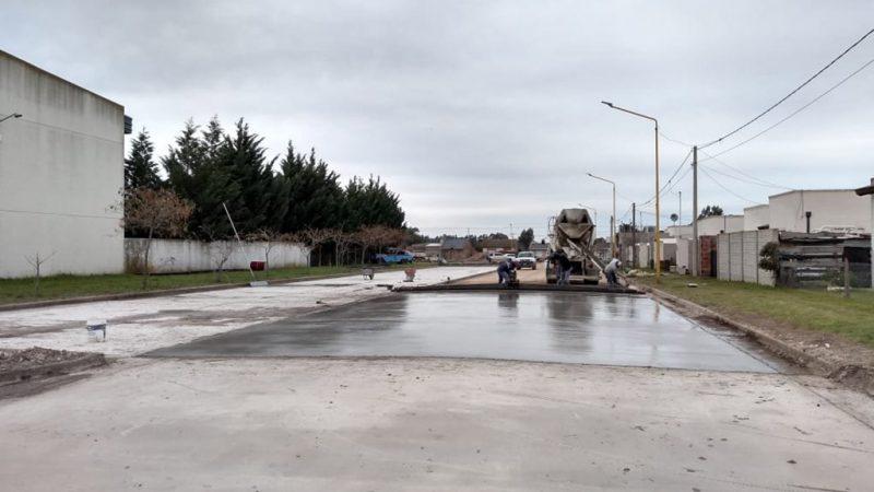 Precauciones y plan de recolección de residuos en zona de pavimentación