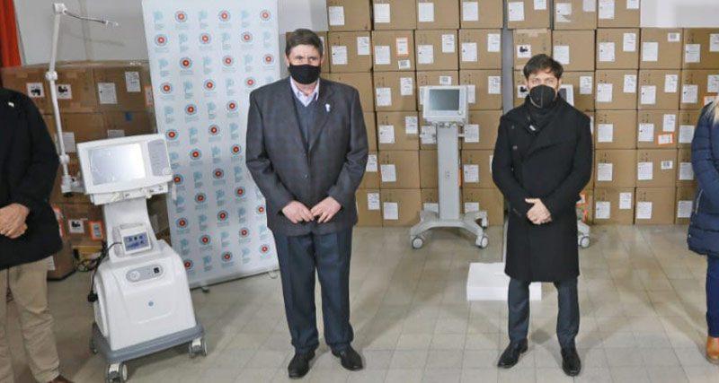 El gobierno provincial entregó un respirador para el Hospital Municipal