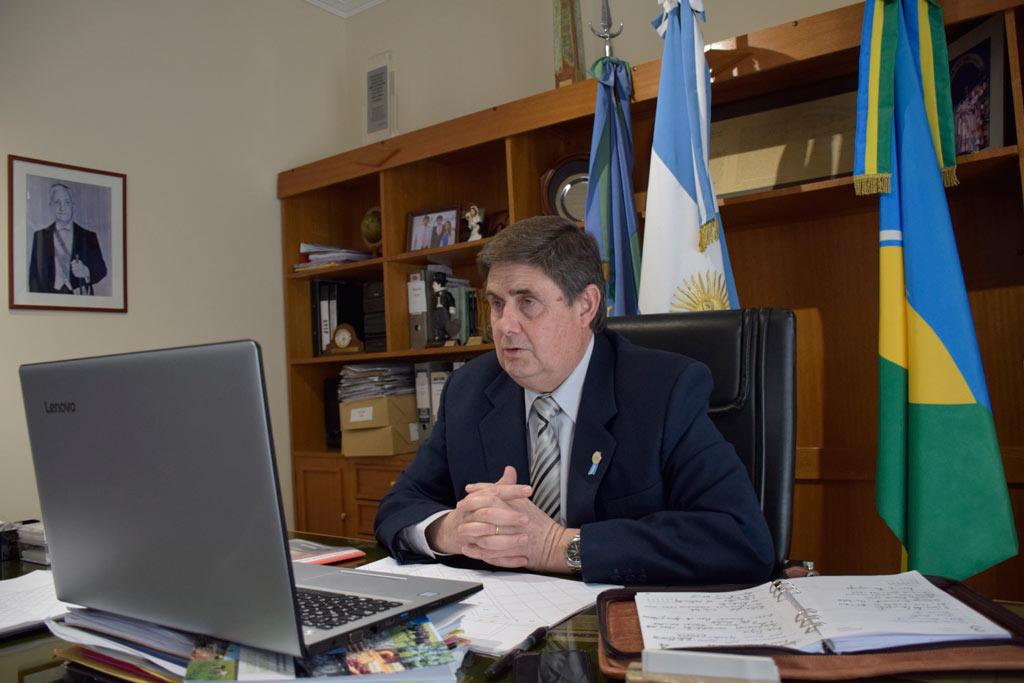 Gargaglione proyectó obras con el Ministro Katopodis