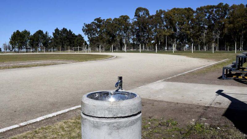 Mejoras en el Campo Municipal de Deportes