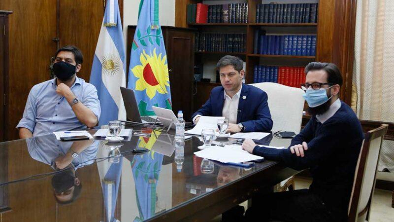 Gargaglione firmó convenio con el Gobernador para construir un Geriátrico