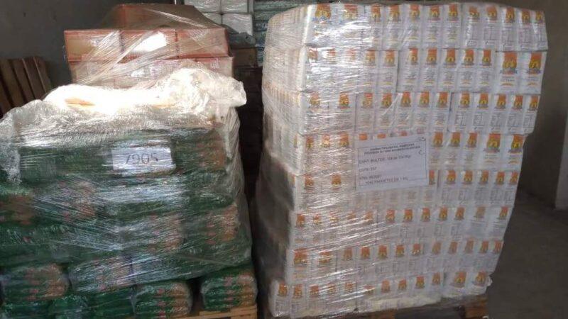 Nación y Provincia enviaron mercadería