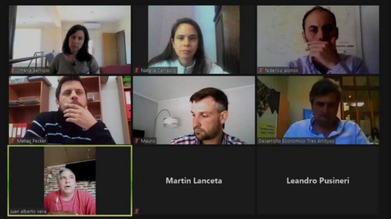 Encuentro virtual sobre  mercado alimentario
