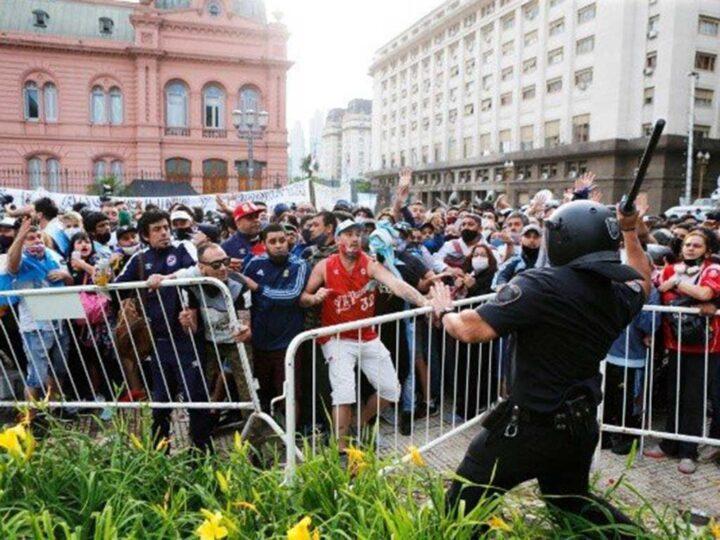 La Argentina y el adiós a Maradona, por Magalí Di Croce