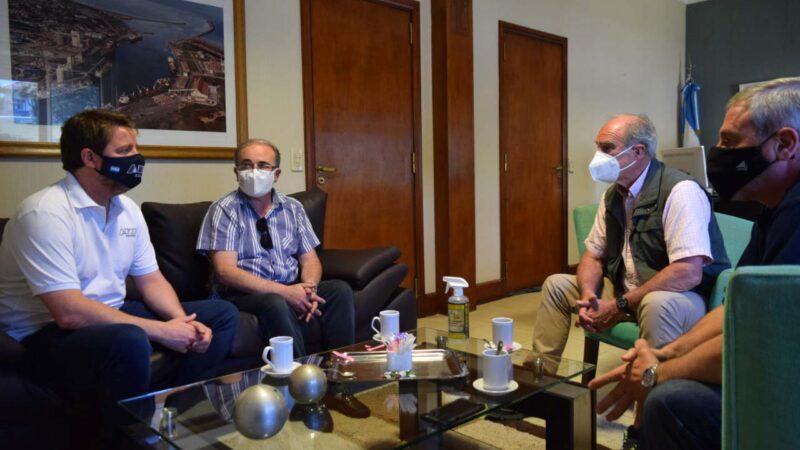 Consorcio y Aduana aúnan esfuerzos para fortalecer la seguridad en Puerto Quequén