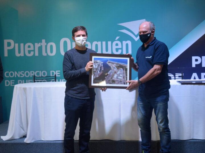 """""""Con la designación de Álvaro estamos listos para introducir a Puerto Quequén en un sistema productivo provincial al servicio de la industria y el trabajo"""""""