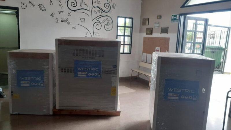 Consejo Escolar: inversión en sistemas de calefacción