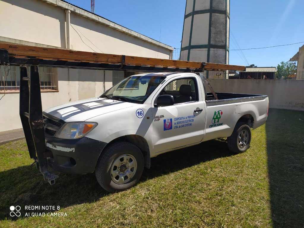 La Cooperativa Eléctrica vende camioneta a través de concurso privado de precios
