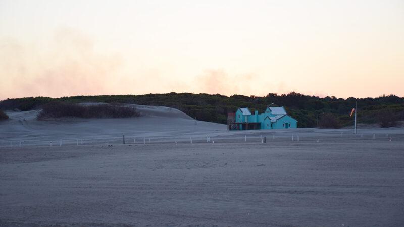 Se iluminará el estacionamiento en el sector costero de la villa balnearia