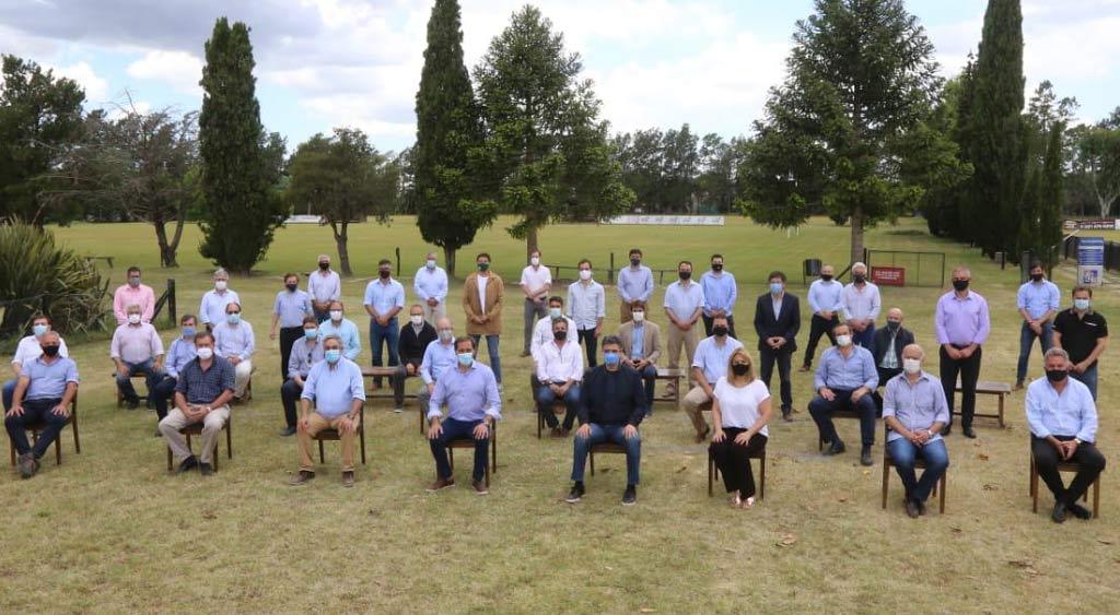 Gargaglione participó del encuentro de intendentes de  Juntos por el Cambio