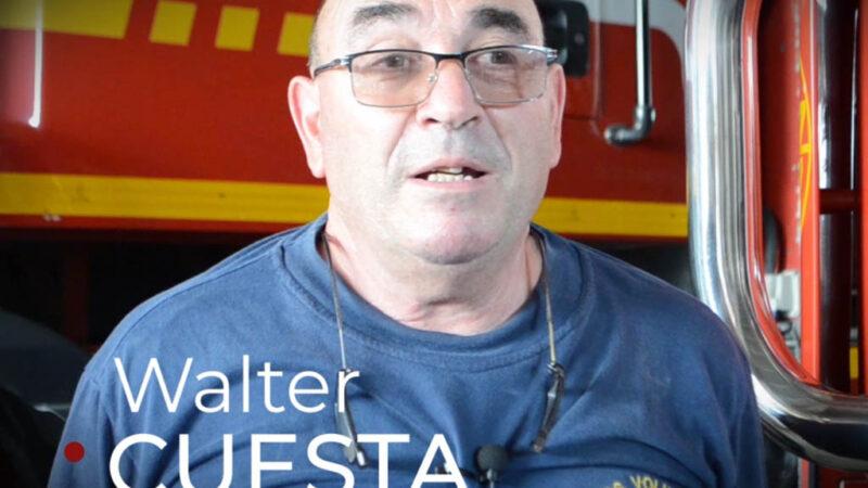 Walter Cuesta, una vida al servicio de la comunidad sancayetanense