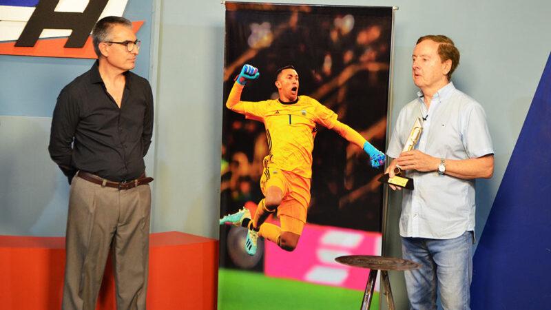 Jorge Fantasía fue homenajeado con el Premio «Quórum Propio» a la Trayectoria Deportiva