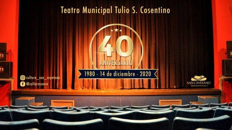 El Teatro Municipal cumple 40 años