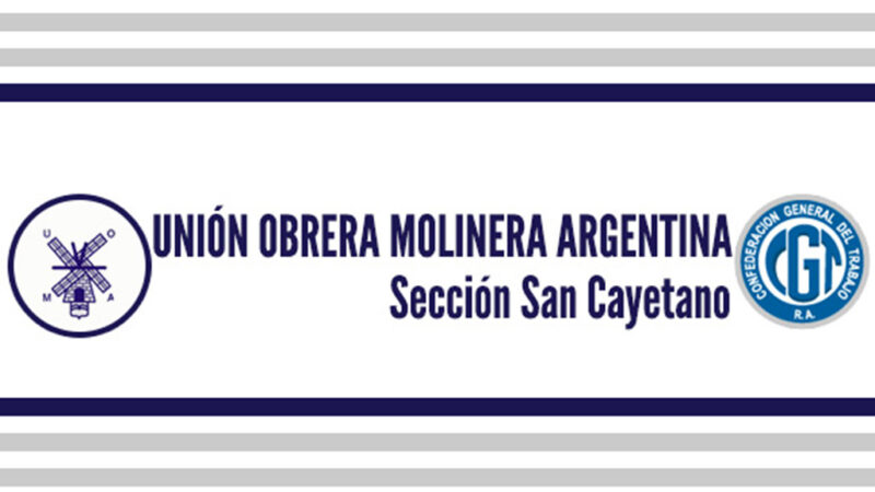 Condolencias de U.O.M.A. San Cayetano
