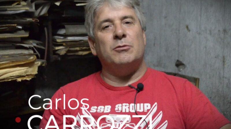 Carlos Carrozzi, ídolo del automovilismo sancayetanense 1° parte