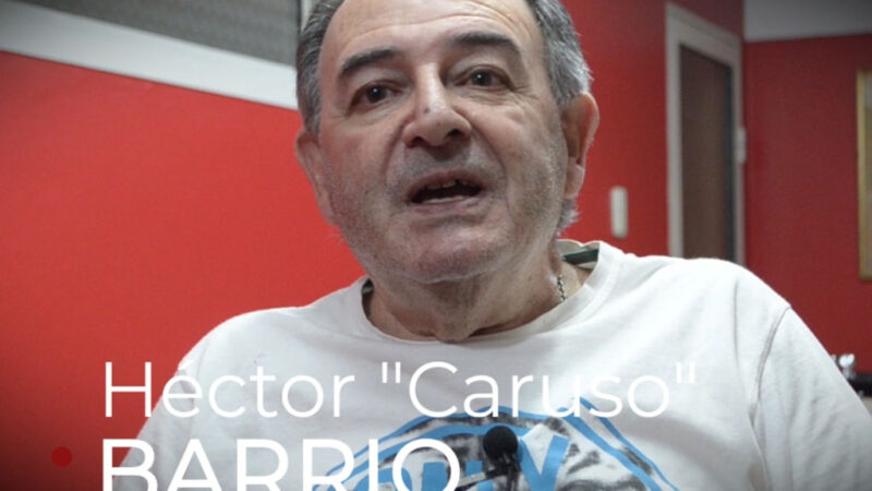 Héctor «Caruso» Barrio, décadas como peluquero sancayetanense