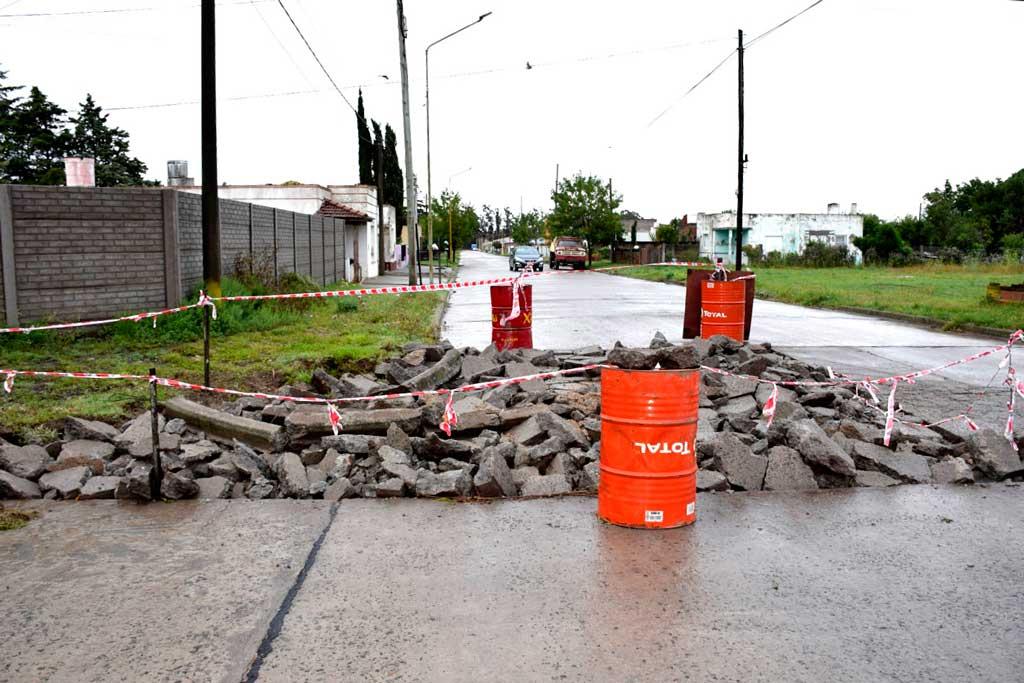 Reparación y bacheo de pavimento